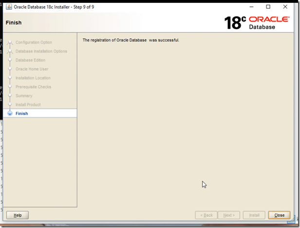 18c Database installation on Windows – Learning is not a