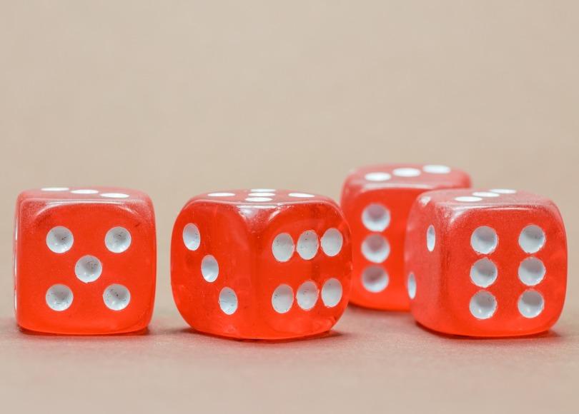 random dice toss