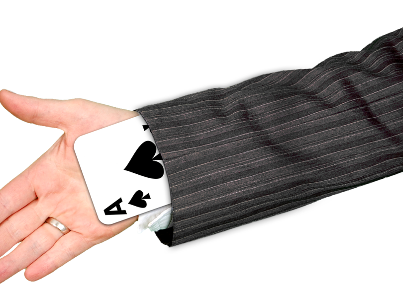 ace revealed by magician